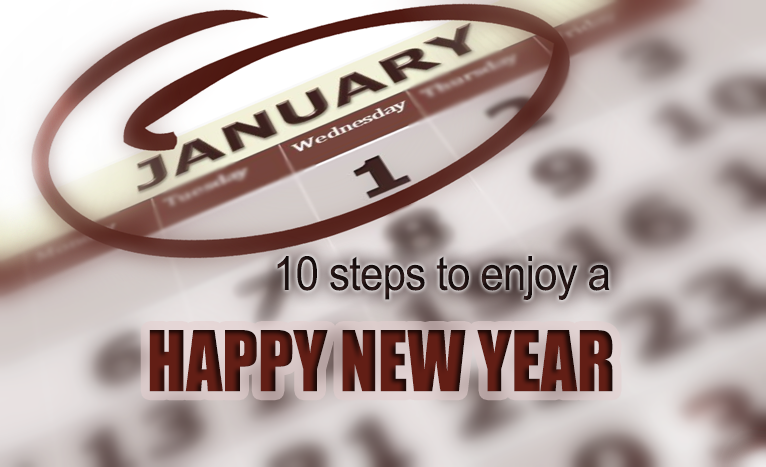 10 steps to enjoy a Happy New Year